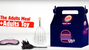 汉堡王情人节营销,这个成人玩具的梗是停不下来了