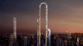 """这栋被""""掰弯""""的摩天大楼更在乎长度"""