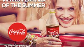 这个夏天,戴上可口可乐手环,去音乐节躁起来!