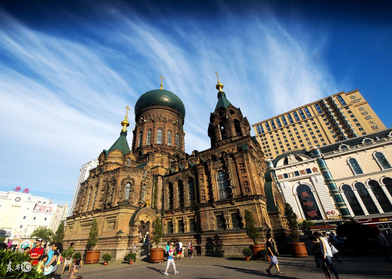 """摄影图集:手机被一篇""""哈尔滨没有什么可厉害的""""文章,给刷爆了"""