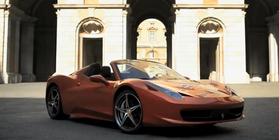 意大利超跑 - Ferrari 458 Spider 【官方广告】