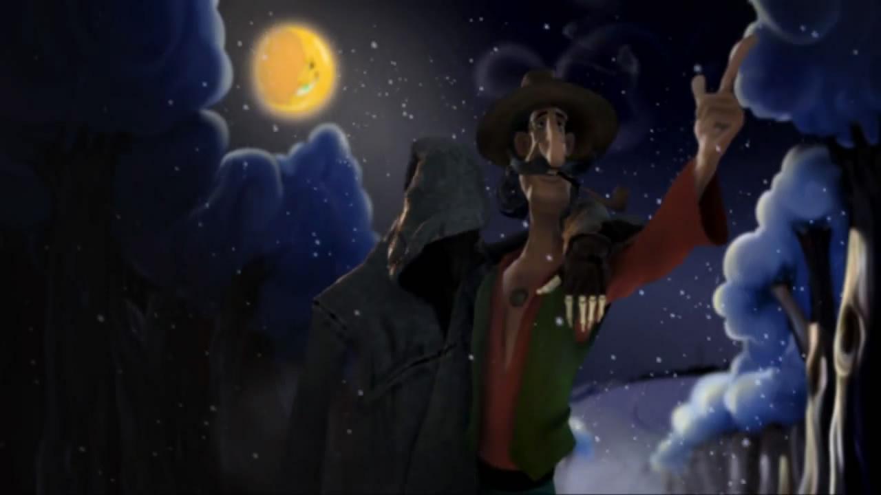 《死神来了》喝醉酒的死神 国外搞笑动画