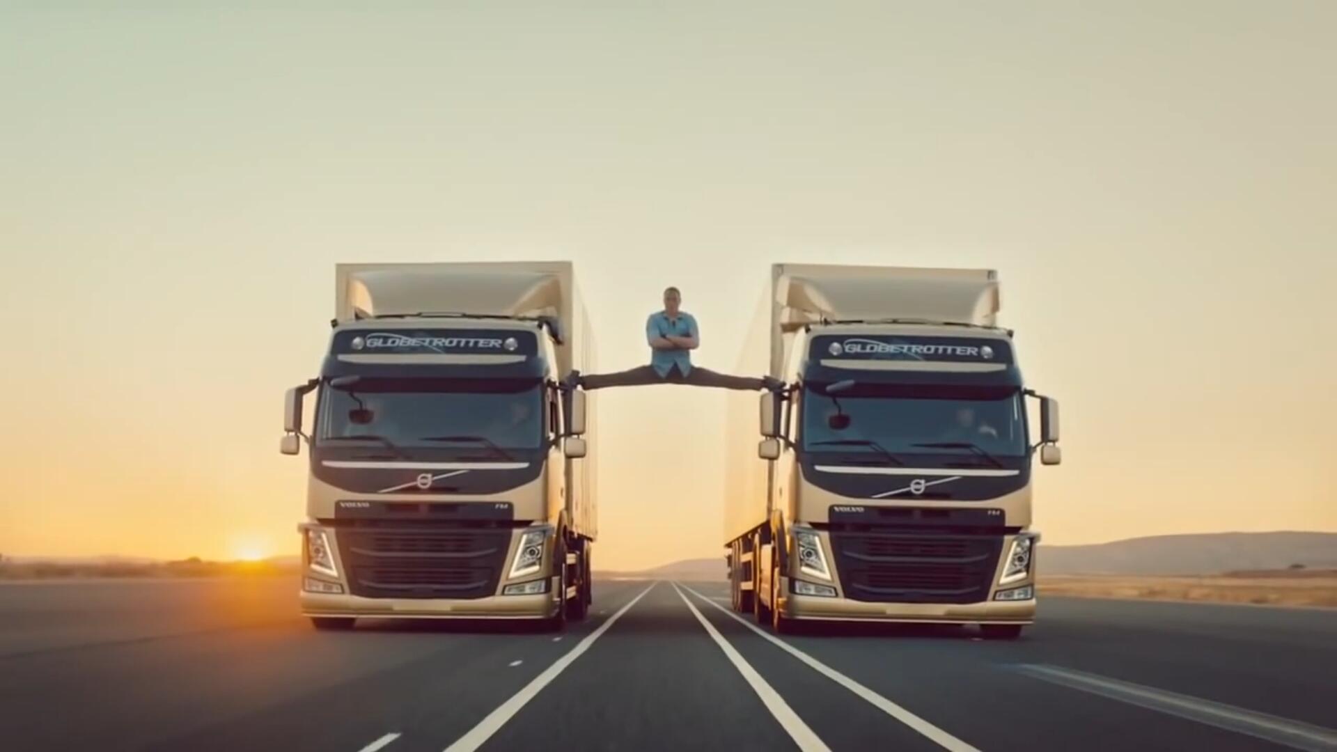 广告: 沃尔沃货車 一镜到底神技