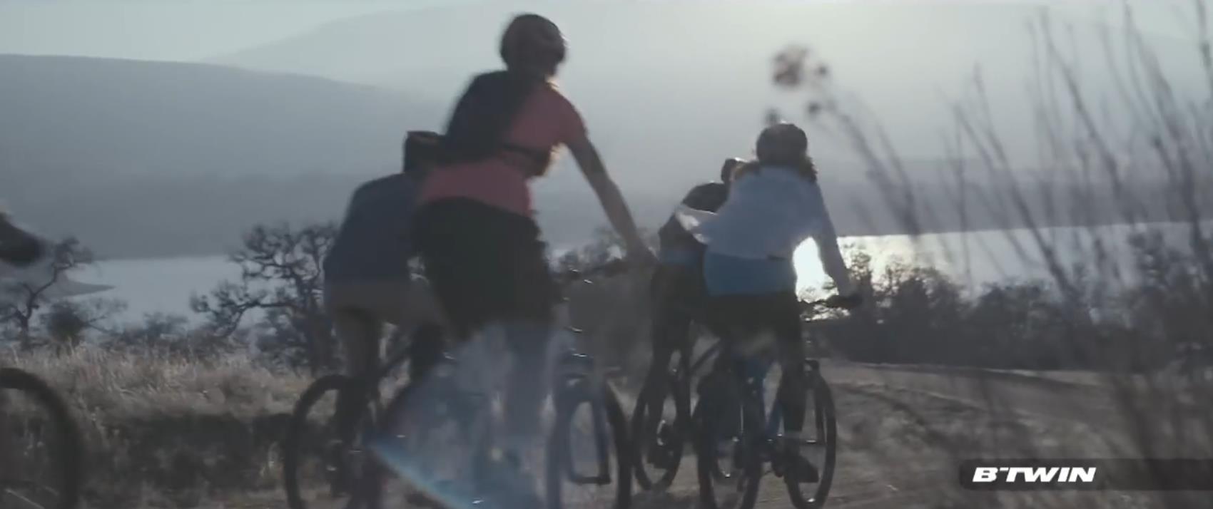 迪卡侬 BTWIN Rockrider 340休闲登山自行车广告.mp4