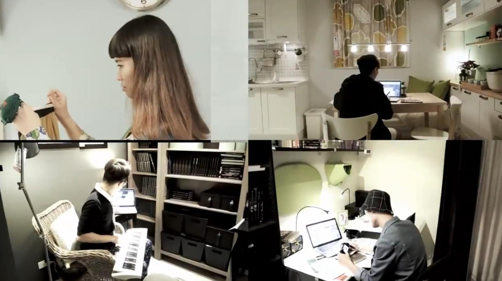 友情伞影像设计工作室形象广告