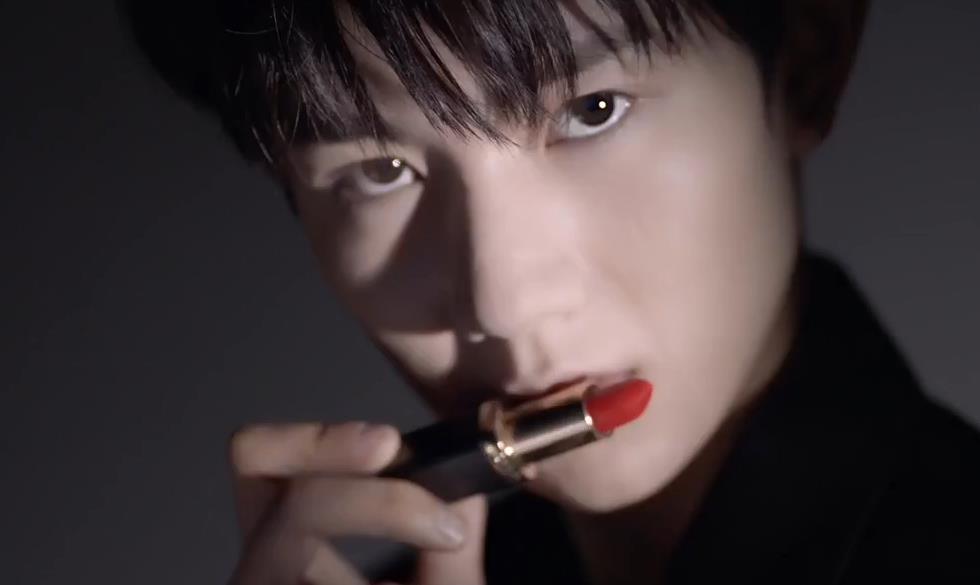 巴黎欧莱雅L'Oreal携手王源推出魅惑唇膏广告