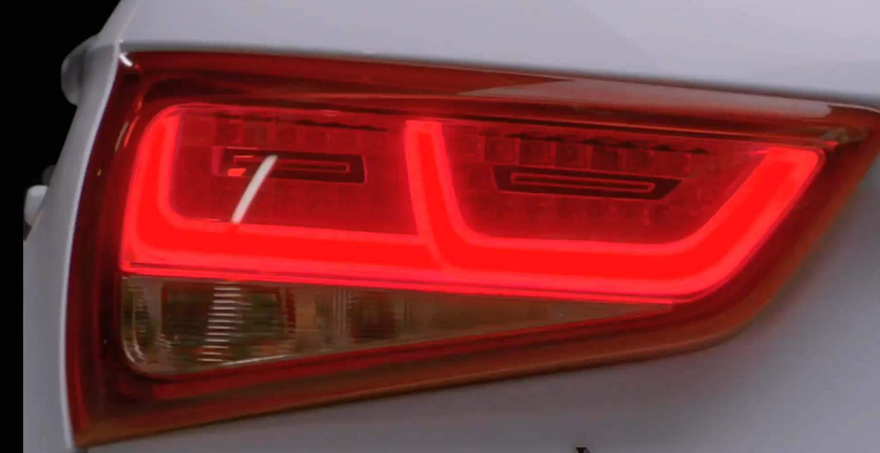 奥迪 Audi A1 尾灯里的一毫米