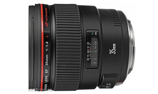 佳能35mm f/1.4镜头专利公布