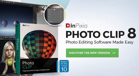 自动抠图工具 InPixio Photo Clip 8.6.0【汉化版】