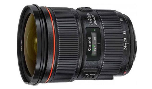 佳能24-70mm(80mm) f/2.8 IS镜头专利公布