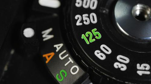 摄像机的快门速度