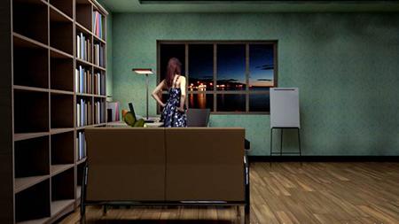 电视摄像运用光线照明技术7:家庭灯光摄像
