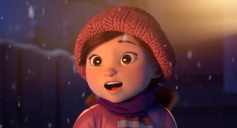《莉莉和雪人》温馨暖人动画,请为您爱的人空出时间!