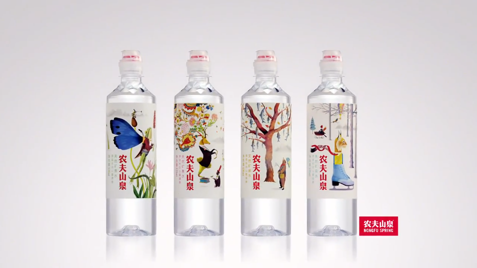 农夫运动盖水《四季篇》创意动画