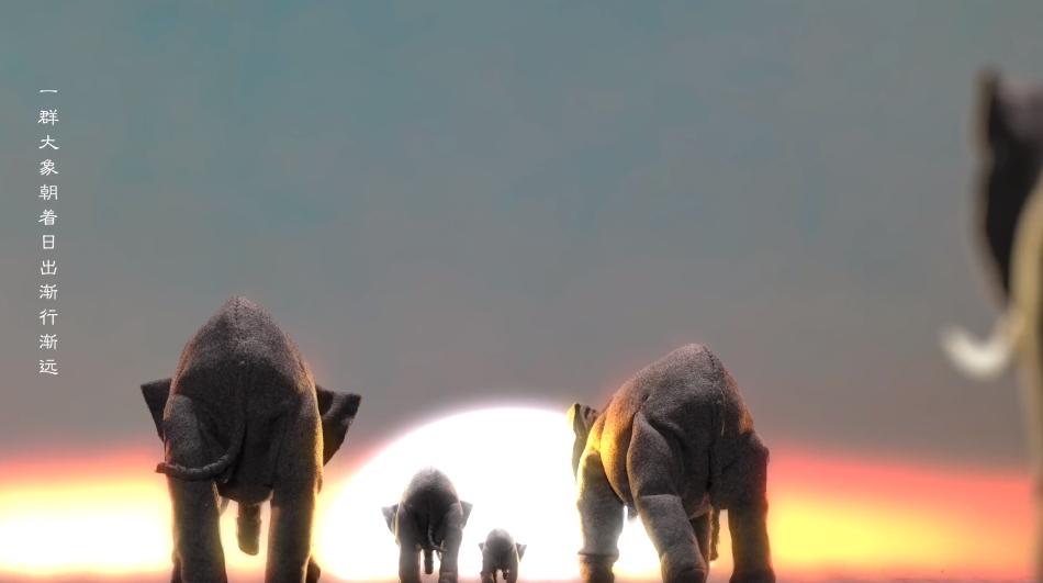 华为P30 Pro《大象》定格动画
