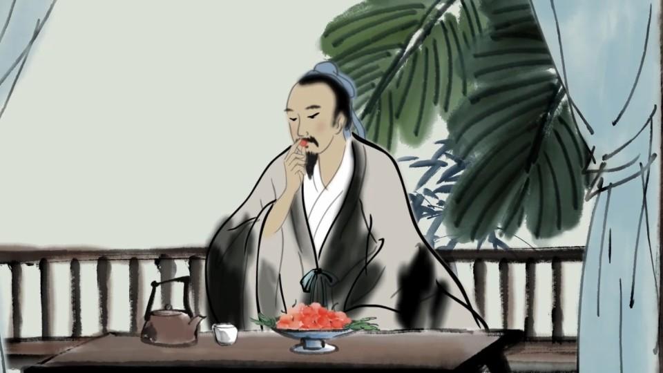 古诗动画《闲居初夏午睡起》中国风水墨动画
